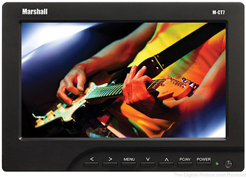 "Marshall Electronics M-CT7 7"" LCD On-Camera HDMI Monitor with Canon LP-E6 Plate / Battery / Charger - $169.00 Shipped (Reg. $259.00)"