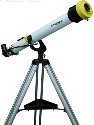 Meade EclipseView 60mm f/13 AZ Achro Refractor Telescope with Solar Filter - $74.95 Shipped (Reg. $99.95)