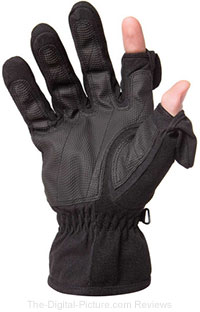 Men's Stretch Thinsulate Gloves (Black)