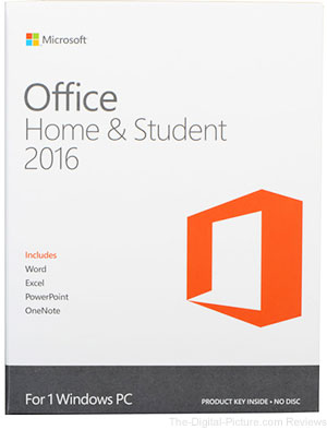 Microsoft Office Home & Student 2016 for Windows