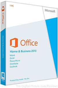 Microsoft Office Home & Business 2013 - $151.99 (Reg. $189.95)