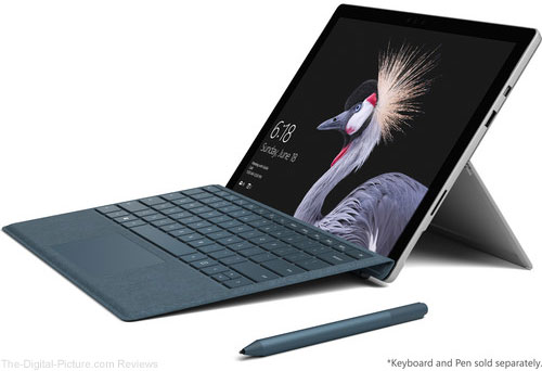 "Microsoft Surface Pro 12.3"" Tablets Available for Preorder at B&H"