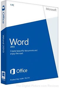 Microsoft Word 2013 Software - $49.99 (Reg. $69.99)