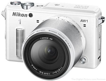 Nikon 1 AW1 Waterproof Mirrorless Camera with 11-27.5mm Lens