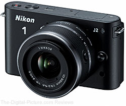 Nikon 1 J2 Mirrorless Camera with 10-30mm Lens