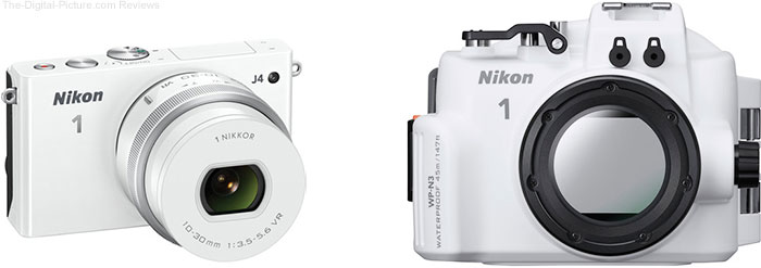 Refurb. Nikon 1 J4 with 10-30mm Lens & Waterproof Housing - $279.00 Shipped