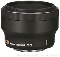 Nikon Announces 1 NIKKOR 32mm f/1.2 Lens