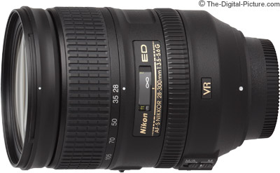 Nikon 28-300mm f/3.5-5.6 G ED VR Lens - $889.00 (Compare at $1,046.95)