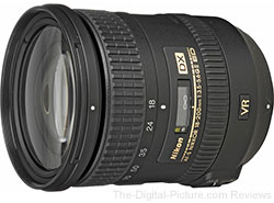 Refurbished Nikon AF-S DX NIKKOR 18-200mm f/3.5-5.6G ED VR II Lens - $529.00 Shipped (Compare at $846.95 New)