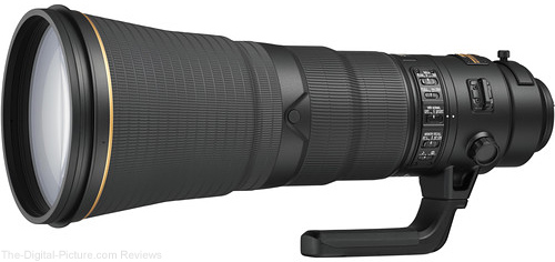 Nikon AF-S NIKKOR 600mm f/4E FL ED VR Lens In Stock at B&H