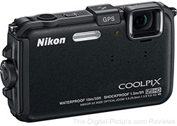 Nikon COOLPIX AW100 Digital Camera (Black)