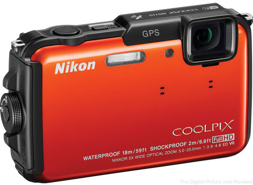 Refurbished Nikon COOLPIX AW110 All-Weather Camera - $149.95 Shipped (Reg. $189.00)