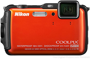 Nikon COOLPIX AW120 Waterproof Digital Camera