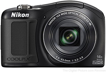 Refurbished Nikon Coolpix L620 Digital Camera - $79.99 Shipped (Compare at $179.00 New)