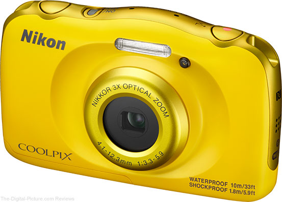 Nikon Announces Weatherproof COOLPIX W100