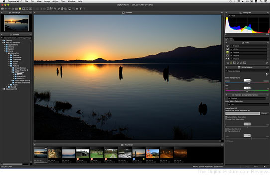 Nikon Capture NX-D Software