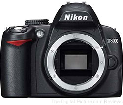 Refurbished Nikon D3000 DSLR Camera