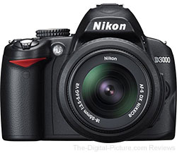 Update: Refurbished Nikon D3000 DSLR Camera w/18-55mm & 55-200mm Lenses - $315.00 Shipped