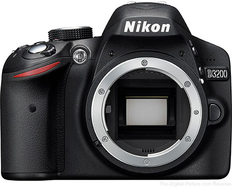 Refurb. Nikon D3200 with 18-55mm Lens & Wireless Adapter - $269.00 Shippped