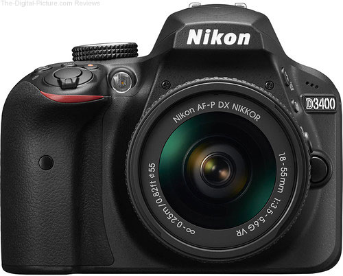 Nikon Announces D3400 and Four New Lenses