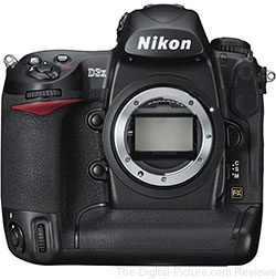 Nikon D3X DSLR Camera, Refurb. 70-300mm VR Lens & SB-700 Flash Bundle - $6,699.00 Shipped