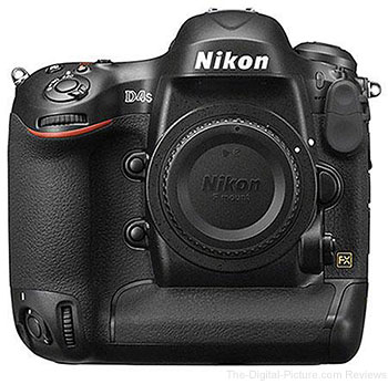 Nikon D4s DSLR Camera - $4,554.99 Shipped (Compare at $5,996.95)