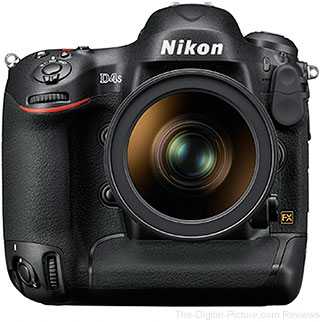 Nikon D4s DSLR Camera - $4,869.99 Shipped (Compare at $6,496.95)