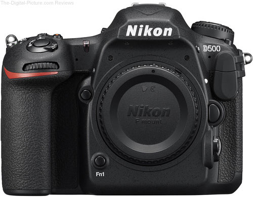 Refurb. Nikon D500 DSLR Camera - $1,496.95 Shipped (Compare at $1,796.95 New)