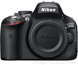 Refurbished Nikon D5100 DSLR Camera