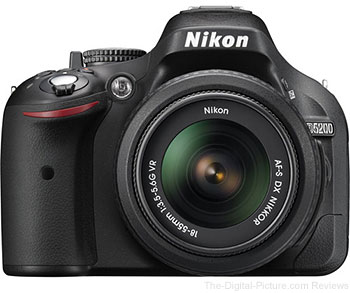 Nikon D5200 DSLR Camera with 18-55mm VR Lens - $529.99 Shipped (Compare at $746.95)