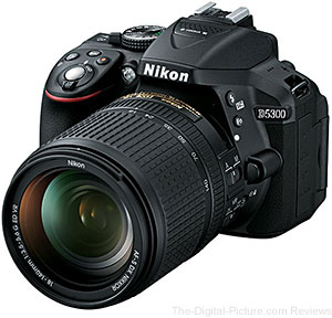 Nikon D5300 User's Manual Now Available