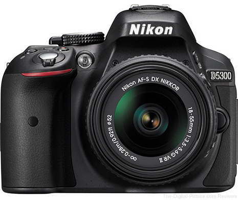 Nikon D5300 with AF-S 18-55mm VR II Lens - $499.00 Shipped (Compare at $796.95)