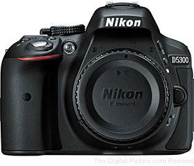 Nikon D5300 DSLR Camera - $658.81 Shipped (Compare at $796.95)