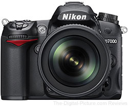 Nikon D7000 DSLR Camera w/ AF-S 18-105mm DX VR NIKKOR Lens - $869.99 (Compare at $996.95)