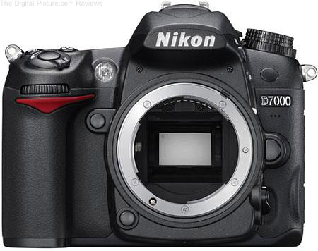 Refurbished Nikon D7000 DSLR Camera - $579.99 Shipped (Compare at $896.95 New)
