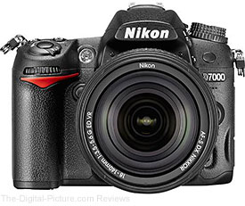Nikon D7000 DSLR Camera with 18-140mm VR Lens - $799.00 with Free Shipping