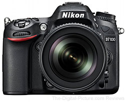 Nikon D7100 DSLR Camera with 18-105mm VR DX Lens