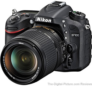 Nikon D7100 DSLR Camera with 18-140mm VR Lens