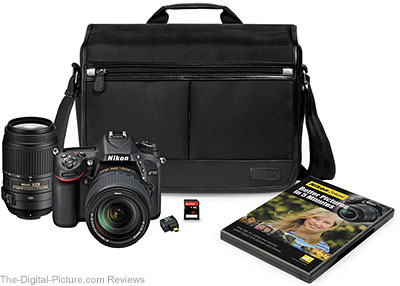 Nikon D7100 DSLR Camera with 18-140mm and 55-300mm VR Lenses Bundle - $1,546.95 Shipped (Reg. $2,226.95)