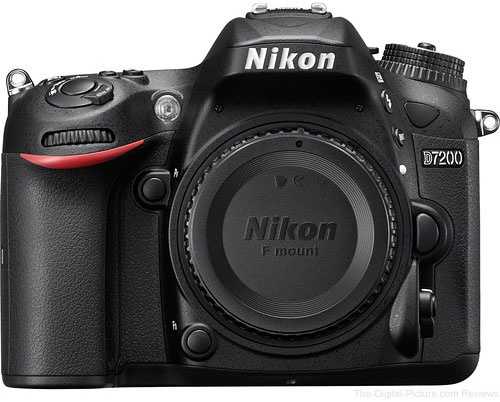 Refurb. Nikon D7200 DSLR Camera - $729.95 Shipped (Compare at $996.95 New)