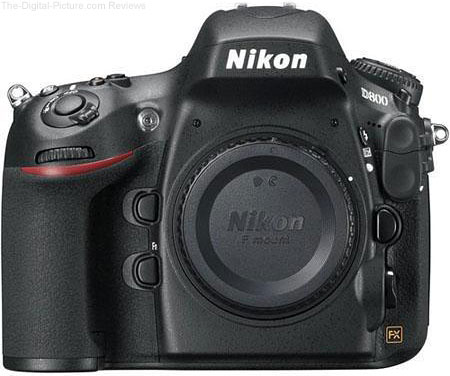 Nikon D800E DSLR Camera - $2,799.00 Shipped (Compare at $3,296.95)