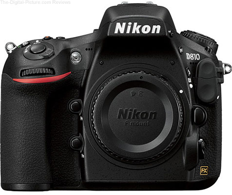 Nikon D810 DSLR Camera - $2,299.99  (Compare at $2,996.95)