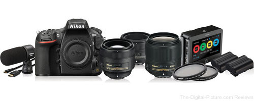 Nikon D810 DSLR Filmmaker's Kit