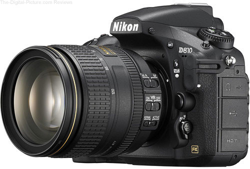 Save $900.00 on the Nikon D810 DSLR with 24-120mm Lens