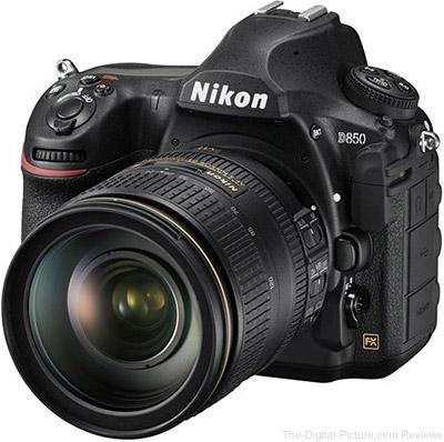 Nikon Announces the D850 DSLR Camera