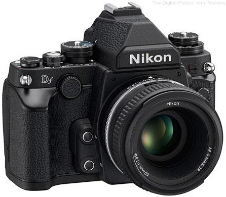 Nikon Df DSLR with 50mm f/1.8G Lens (Black)