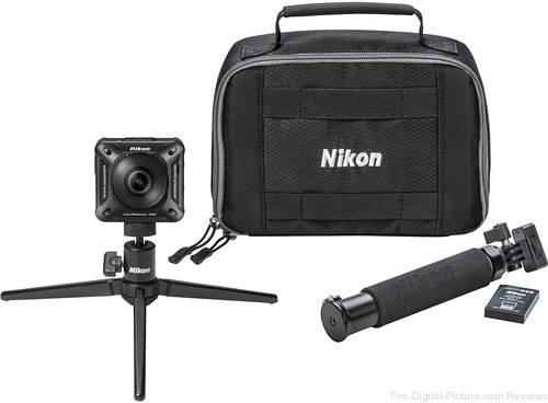 Preorder a Nikon KeyMission 360 or 170, Get a Free Accessory Pack ($149.95 Value)