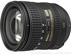 Nikon Nikkor 16-85mm f/3.5-5.6G ED VR AF-S DX Lens - (Compare at $629.00)