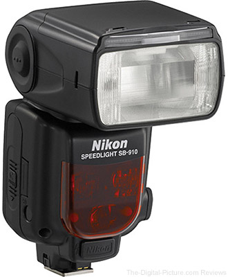 Nikon SB-910 Speedlight Flash - $455.00 with Free Shipping (Compare at $546.95)
