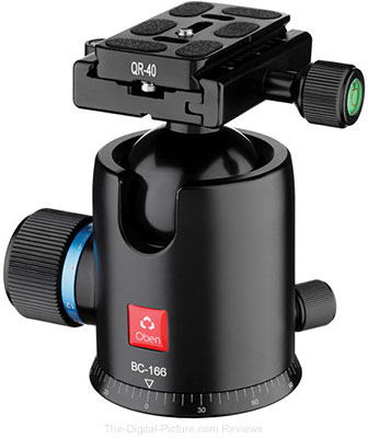 Oben BC-166 Ball Head - $169.95 with Free Shipping (Reg. $199.95)